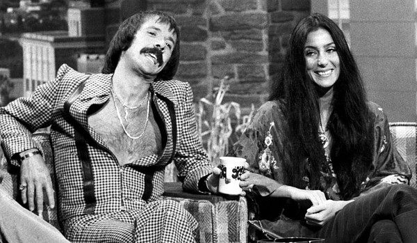 1970s Candids Photograph - The Tonight Show, Sonny & Cher, 1975 by Everett
