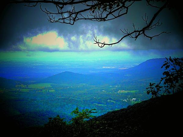 Mountain Photograph - The Valley by Michael L Kimble