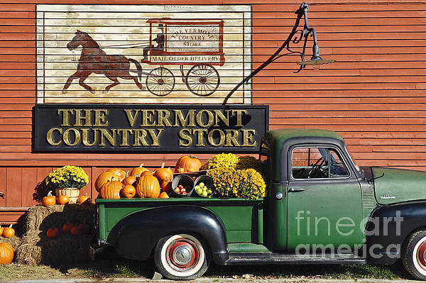 Americana Photograph - The Vermont Country Store by John Greim