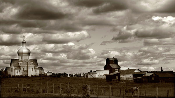 Rural Photograph - The Village by Jerry Cordeiro