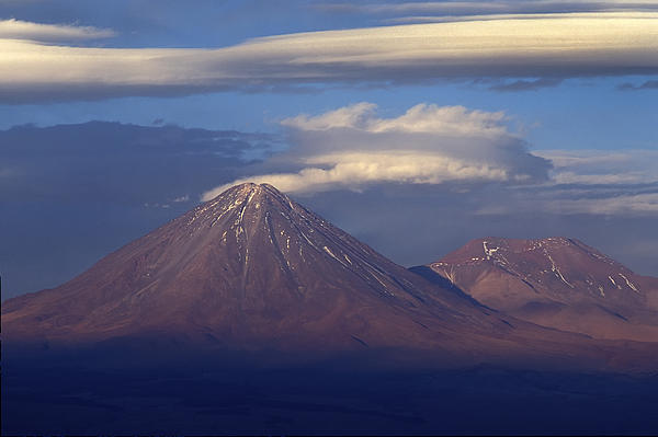 Volcano Photograph - The Volcano Llicancabur. Republic Of Bolivia. by Eric Bauer