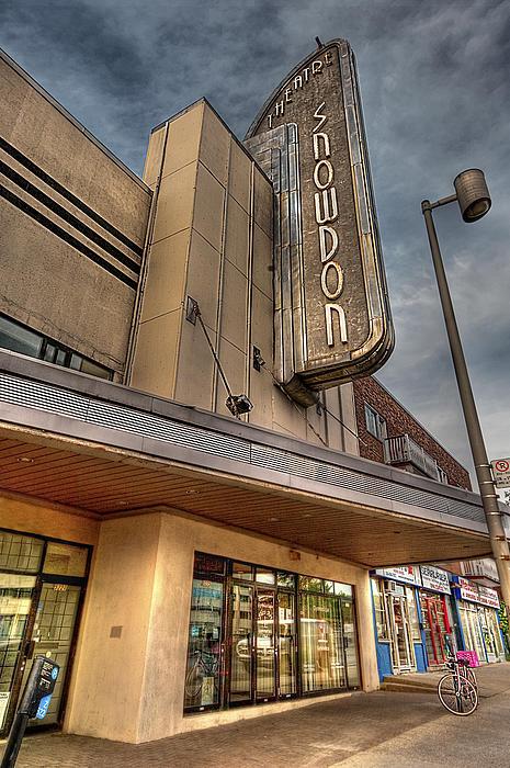 Theater Photograph - Theatre Snowdon by Elisabeth Van Eyken