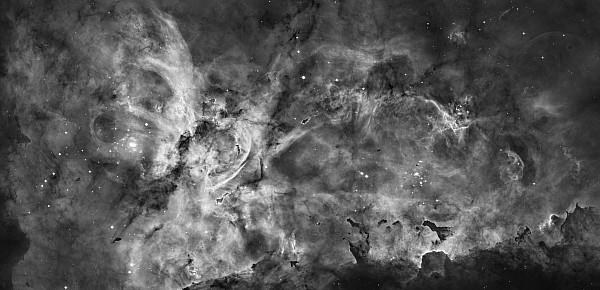 Galaxy Photograph - This View Of The Carina Nebula by ESA and nASA