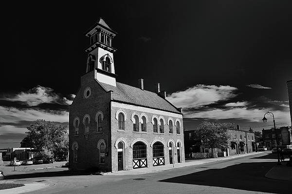 Buildings Photograph - Thorolds Old Fire Hall by Guy Whiteley