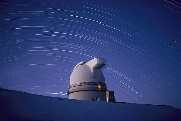 Pacific Islands Photograph - Time-exposure Of The Mauna Kea by Robert Madden