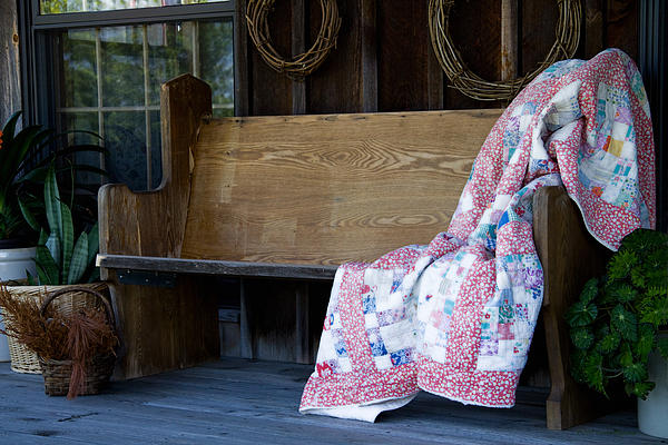 Bench Photograph - Time For Another Rest by Carol Hathaway