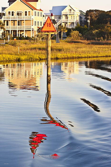 Topsail Photograph - Topsail Sound Sunset by Betsy Knapp