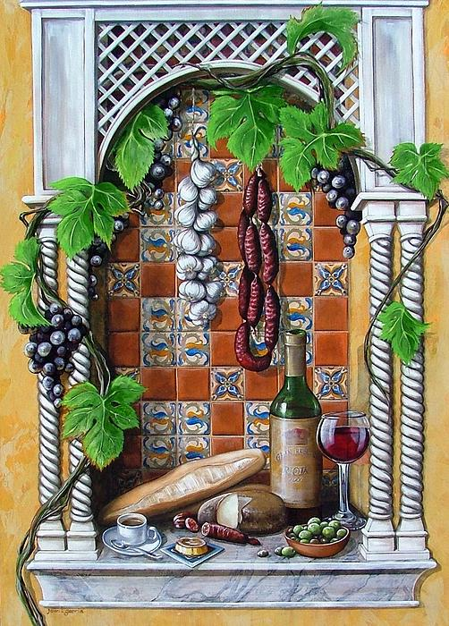 Spanish Painting - Traditions by Joan Garcia