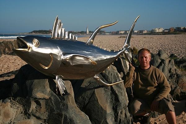 Sculpture Sculpture - Tuna Fish by Jaques