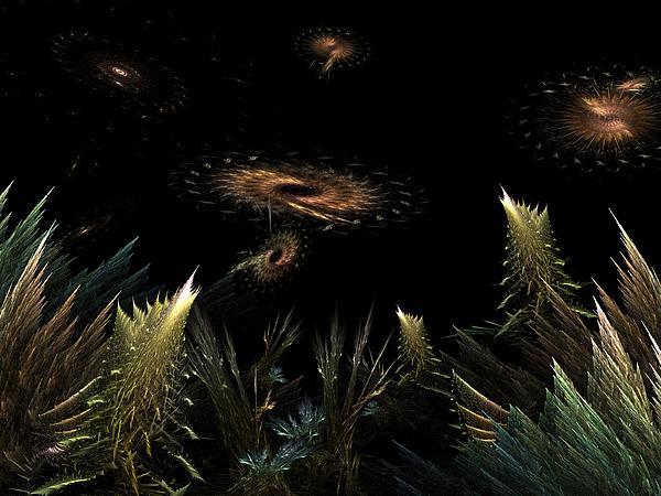 Science Fiction Digital Art - Ulternate Universe by Ricky Kendall