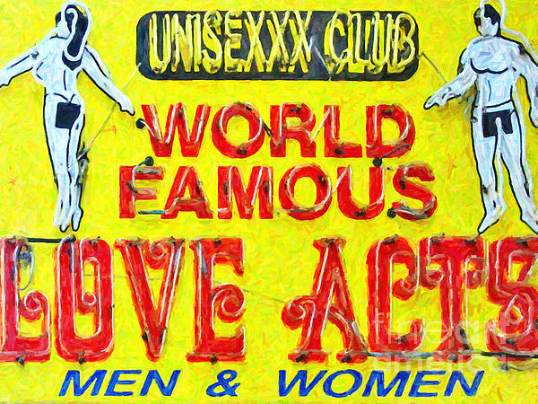 New Orleans Photograph - Unisexxx Club by Wingsdomain Art and Photography