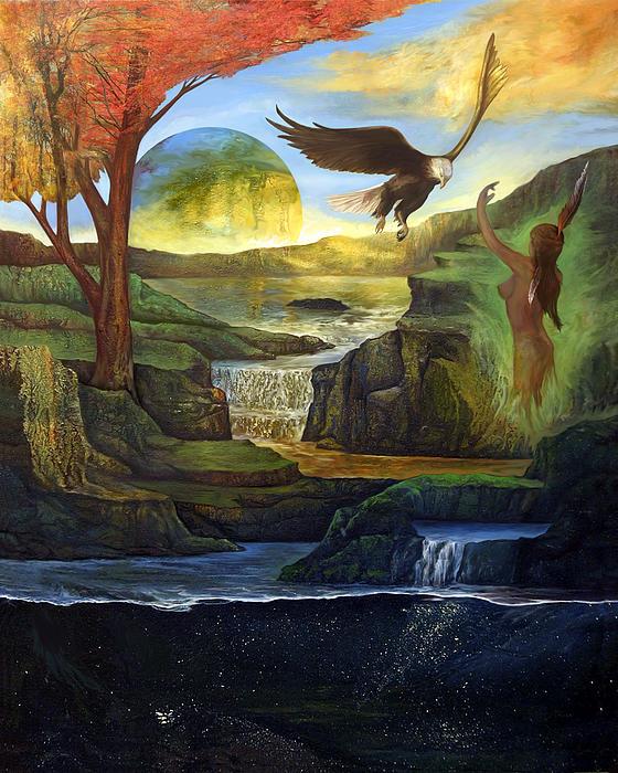 Universal Painting - Universal Call  by Sevan Thometz