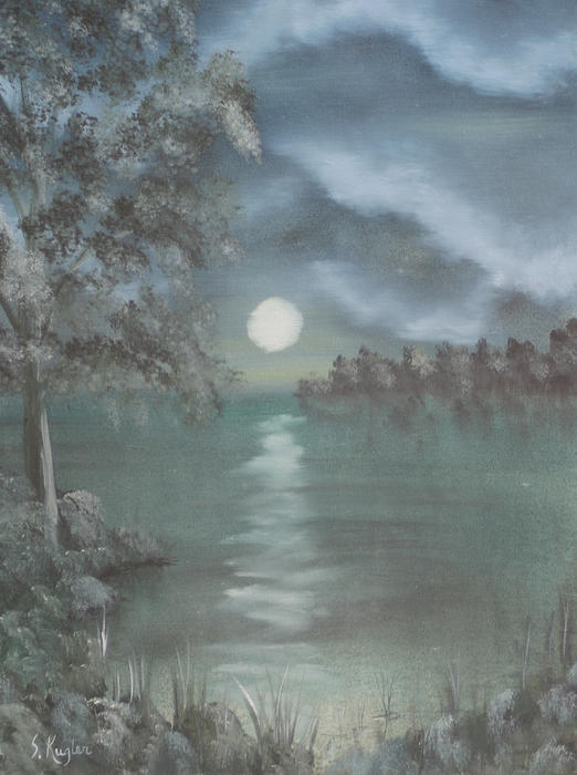Landscape Painting - Untitled by Scott Kugler