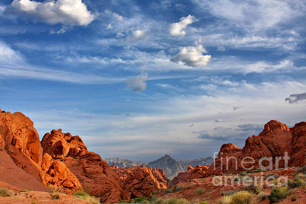 Nevada Photograph - Valley Of Fire Nevada - A Must-see For Desert Lovers by Christine Till