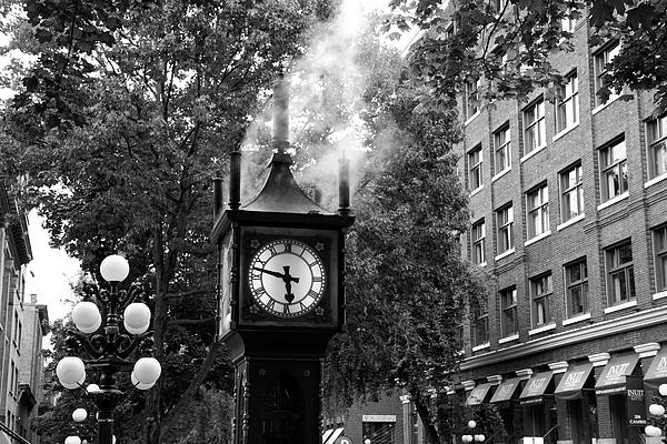 elegant vancouver photograph vancouver city steam clock in gastown by pierre leclerc photography. Black Bedroom Furniture Sets. Home Design Ideas
