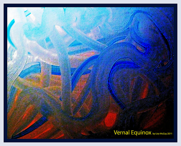 Vernal Equinox Painting by AnneLise McCoy