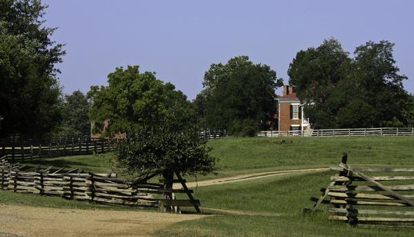 Appomattox Photograph - View Of Appomattox Courthouse 1 by Teresa Mucha