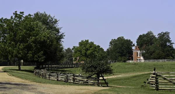 Appomattox Photograph - View Of Appomattox Courthouse 2 by Teresa Mucha