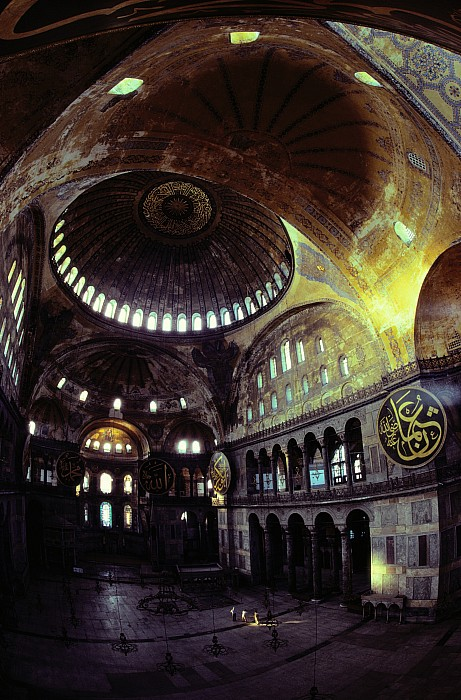 Hagia Sophia Photograph - View Of The Interior Of Hagia Sophia by James L. Stanfield
