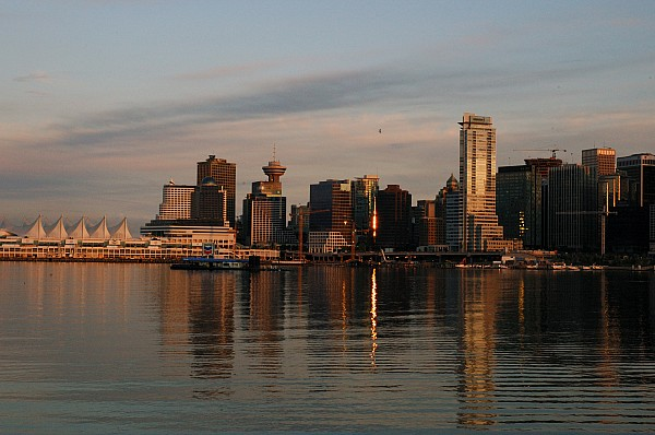 Vancouver Photograph - View Of The Waterfront And Downtown by Darlyne A. Murawski