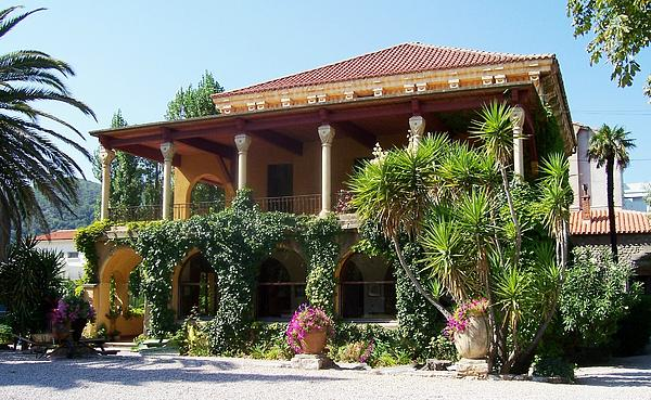 Villas Photograph - Villa Lafabreque Prades France by Marilyn Dunlap
