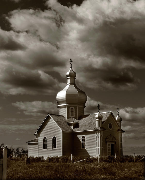 Rural Photograph - Vintage Church by The Artist Project