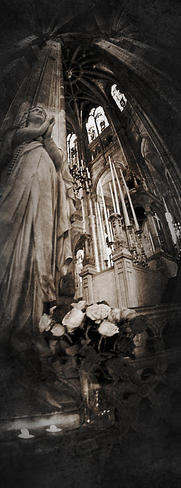 Virgin Mary Photograph - Virgin Mary by Torgeir Ensrud