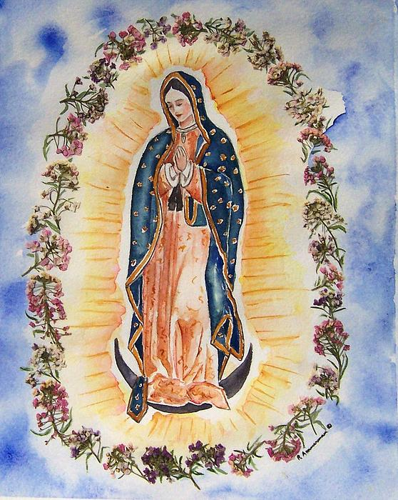 Guadalupe Painting - Virgin Of Guadalupe by Regina Ammerman