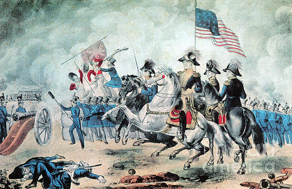 Andrew Jackson Photograph - War Of 1812 Battle Of New Orleans 1815 by Photo Researchers