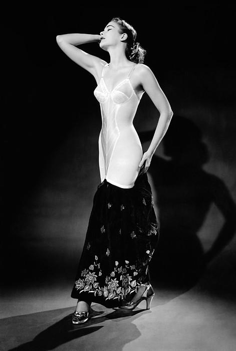 History Photograph - Warner Corset Provided Full Body by Everett
