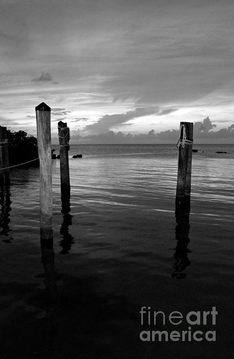 Black And White Photograph - Wasting Time by Kendra Longfellow