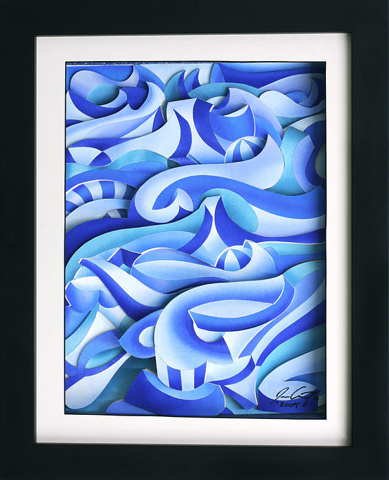 Waves Relief - Waves 2 by Jason Amatangelo