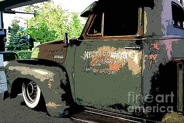 Chevrolet Photograph - Weld County Customs by Guy Harnett