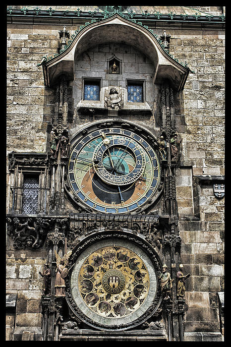 Prague Photograph - What Time Is It by Jason Wolters