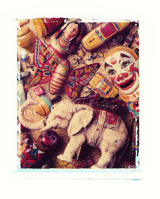 Antique Photograph - White Elephant by Garry Gay