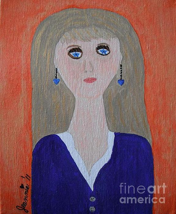 Love Painting - Why Must I Be A Teenager In Love by Jeannie Atwater Jordan Allen