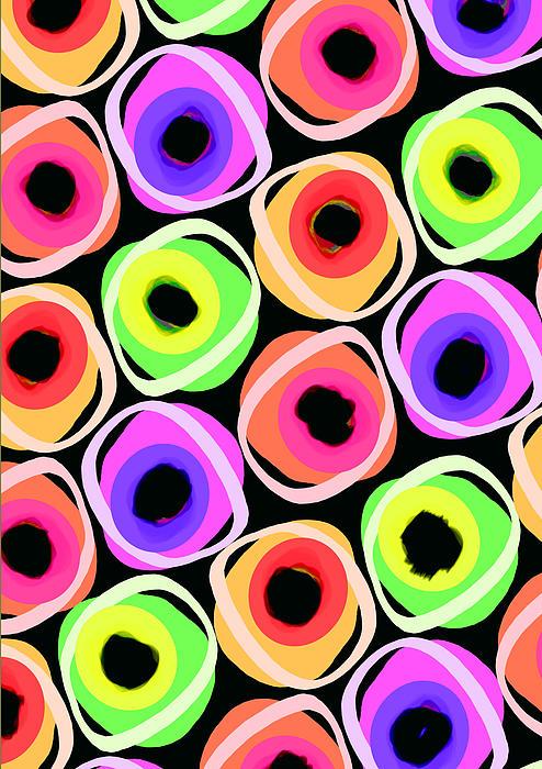 Spot Digital Art - Wild Spots by Louisa Knight