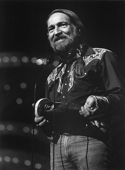 1970s Portraits Photograph - Willie Nelson, Cma Entertainer by Everett