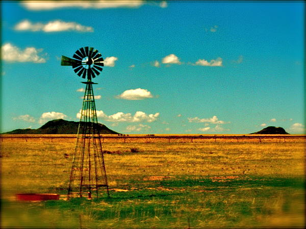 Rural Photograph - Windmill Dreams by Amber Hennessey