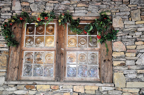 Windows Photograph - Window In The Old Mill by Jan Amiss Photography