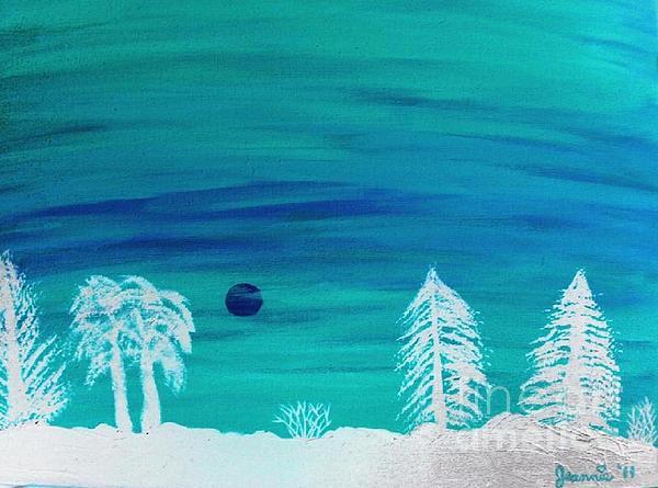Winter Glow Painting Painting - Winter Glow by Jeannie Atwater Jordan Allen