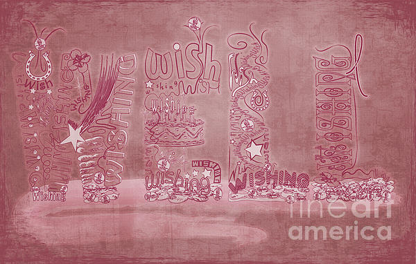 Breast Cancer Digital Art - Wishing Well Breast Cancer Tribute by Laura Brightwood