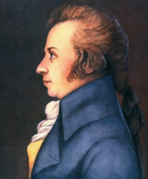 1789 Photograph - Wolfgang Amadeus Mozart by Granger