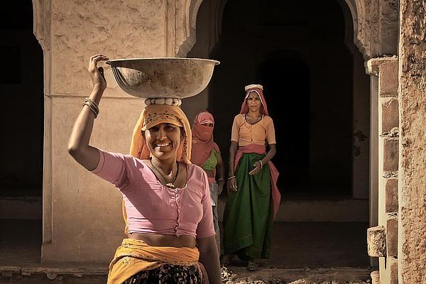 Jaipur Photograph - Workers by Mostafa Moftah