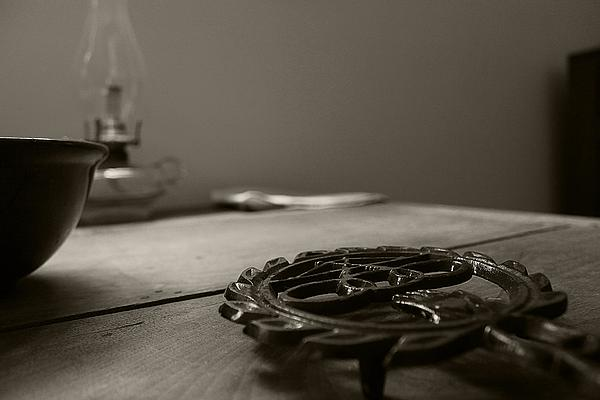 Hovind Photograph - Wrought Iron Trivet by Scott Hovind