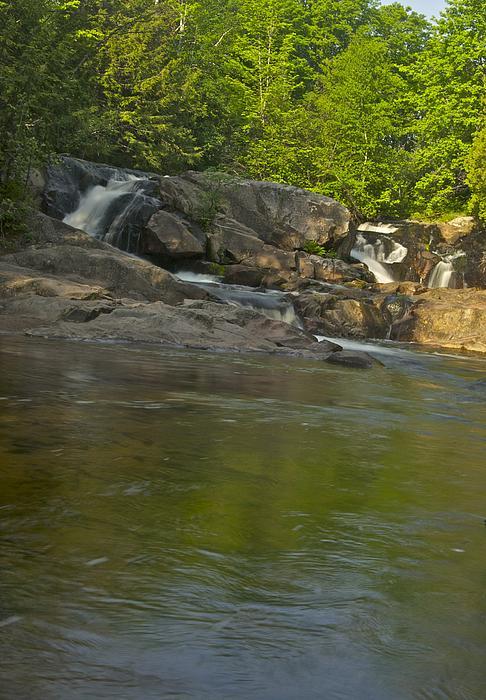 Waterfall Photograph - Yellow Dog Falls 4232 by Michael Peychich