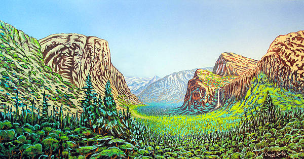 Yosemite Painting - Yosemite by David Linton