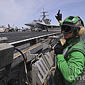 Aviation Boatswain's Mate Signals by Stocktrek Images