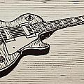 Les Paul by William Cauthern