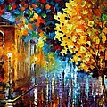 Magic Rain by Leonid Afremov